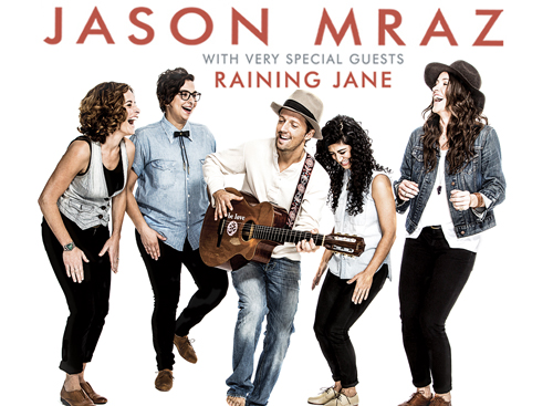 Jason Mraz & Raining Jane at Benedum Center