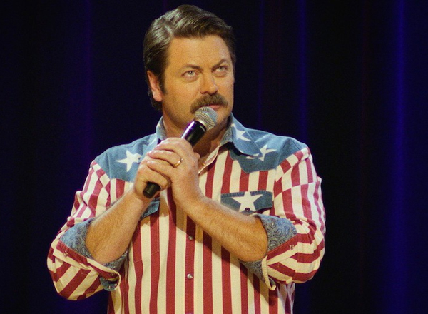 Nick Offerman & Megan Mullally at Benedum Center