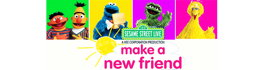 Sesame Street Live: Make A New Friend at Benedum Center