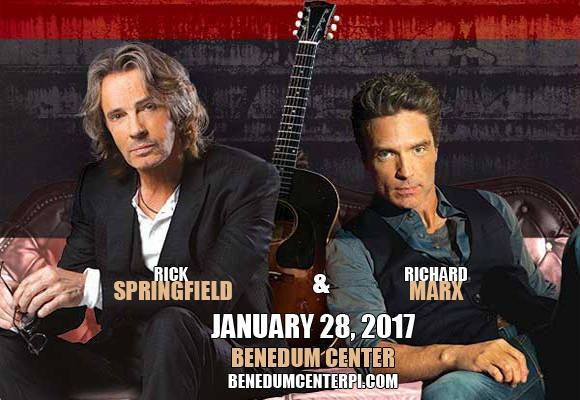 Rick Springfield & Richard Marx at Benedum Center