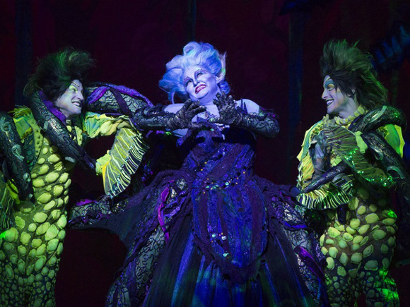 the little mermaid musical benedum center pittsburgh