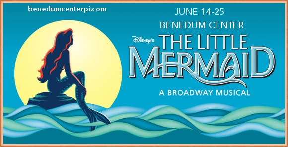 the little mermaid musical benedum center