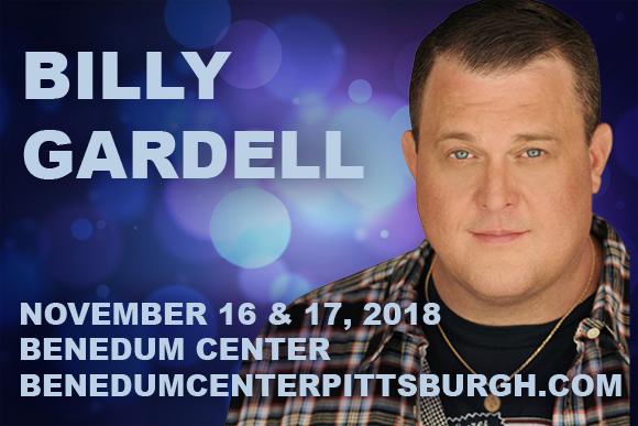 Billy Gardell at Benedum Center