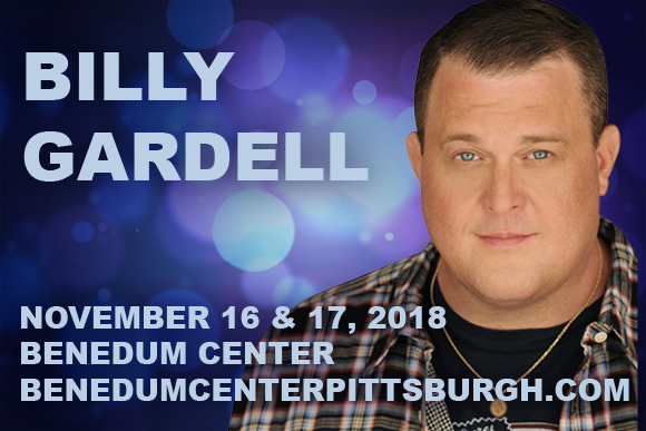 Billy Gardell at Benedum Center