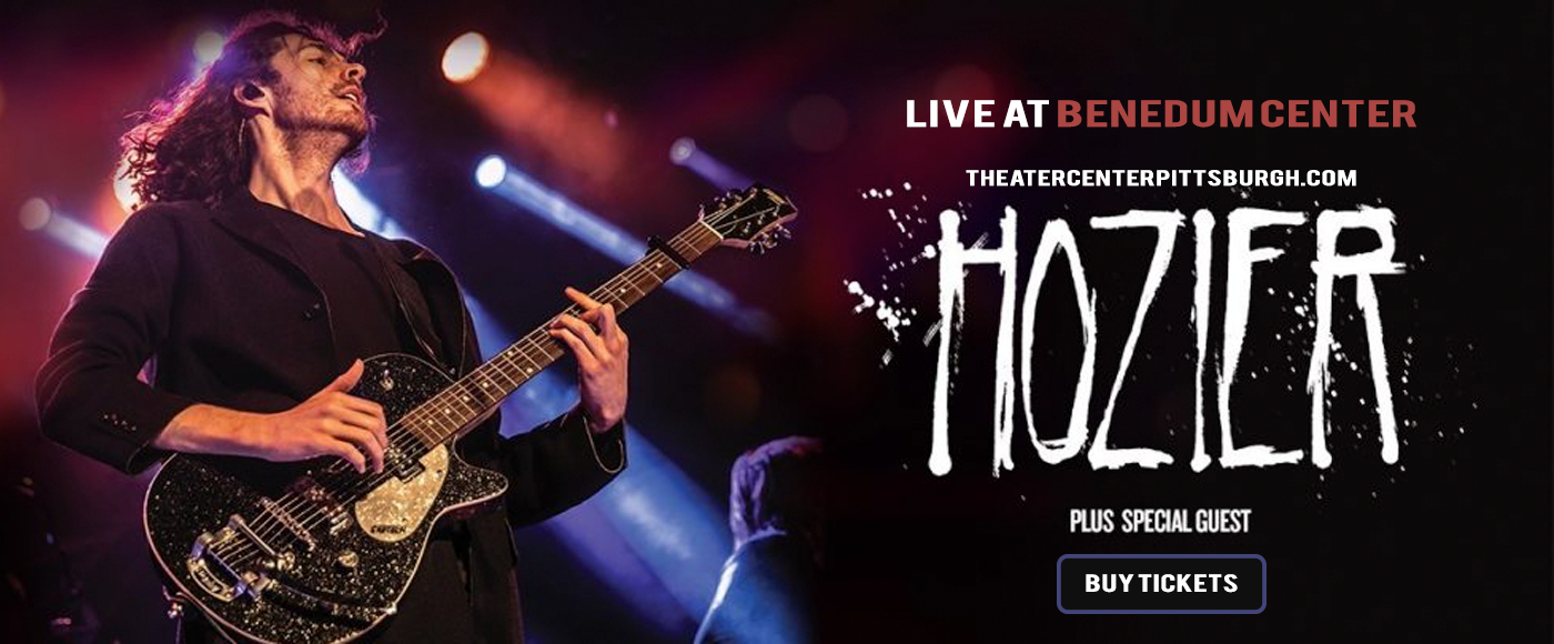 Hozier at Benedum Center