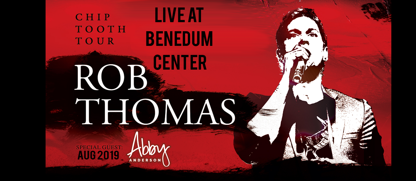 Rob Thomas at Benedum Center