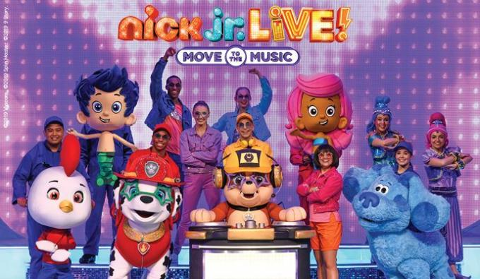 Nick Jr. Live! Move to the Music at Benedum Center