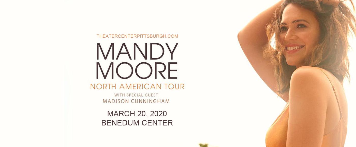 Mandy Moore at Benedum Center