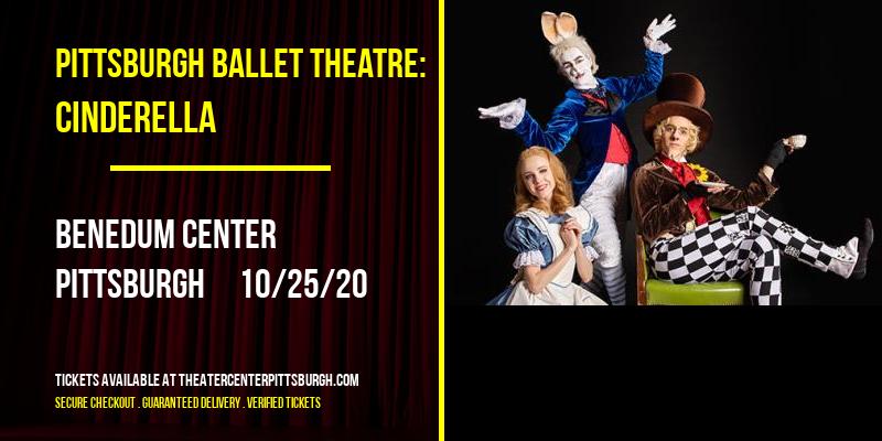 Pittsburgh Ballet Theatre: Cinderella at Benedum Center