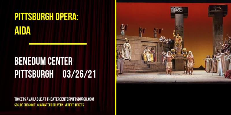 Pittsburgh Opera: Aida at Benedum Center
